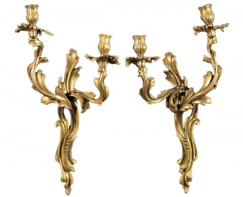 pair of sconces louis XV period