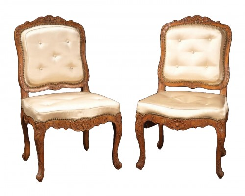 fireside chairs from the Régence period