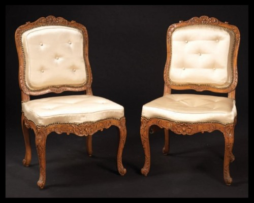 fireside chairs from the Régence period - Seating Style French Regence