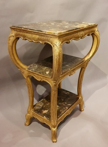 table with three marble tops - Regency period