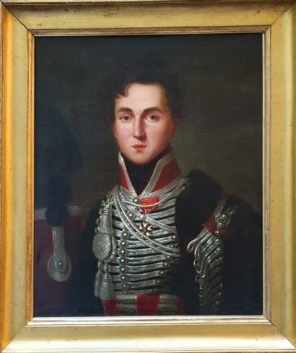 Portrait of Alphonse de Burgat (1788 - 1841) line infantry captain