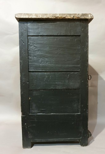 18th century - Corner in European varnish in imitation of Japanese lacquers
