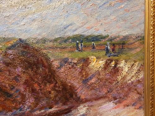 the rocky coast - Karl Edvard Diriks (1855-1930)  - Paintings & Drawings Style