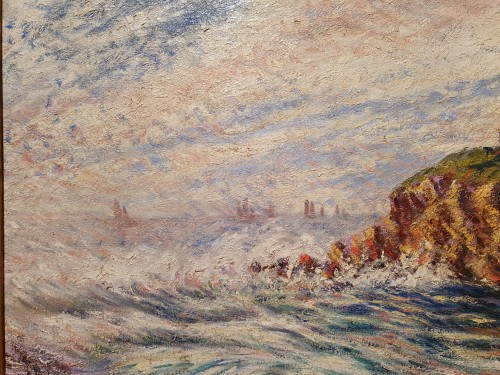 Paintings & Drawings  - the rocky coast - Karl Edvard Diriks (1855-1930)