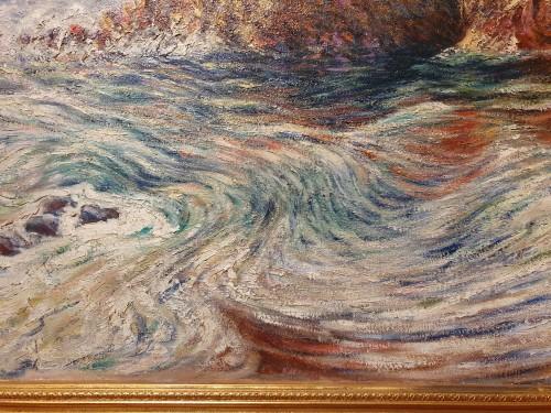 the rocky coast - Karl Edvard Diriks (1855-1930)  -