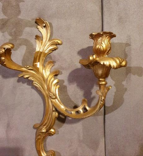 set of four sconces -Louis XV period - Lighting Style Louis XV