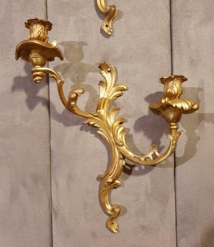 Lighting  - set of four sconces -Louis XV period