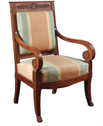 "Empire period armchair ""with the Legion of Honor"""