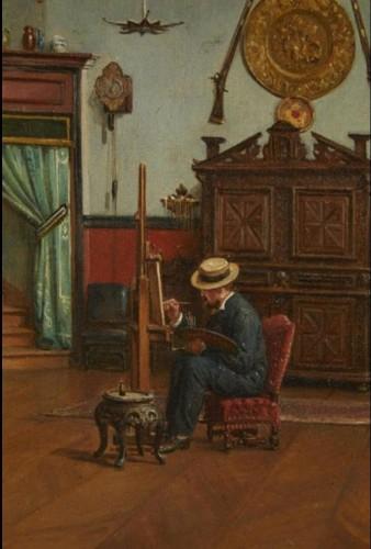 Paintings & Drawings  - studio of painter Etienne-Prosper Berne-Bellecour