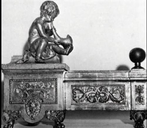 Louis XVI - pair of andirons Louis XVI period
