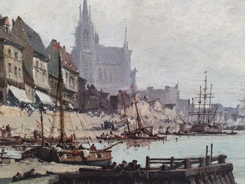 Nantes harbour - Eugène Galien – Laloue (1854 – 1941)  -