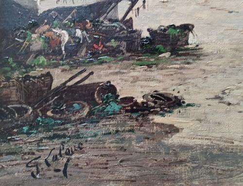 19th century - Nantes harbour - Eugène Galien – Laloue (1854 – 1941)