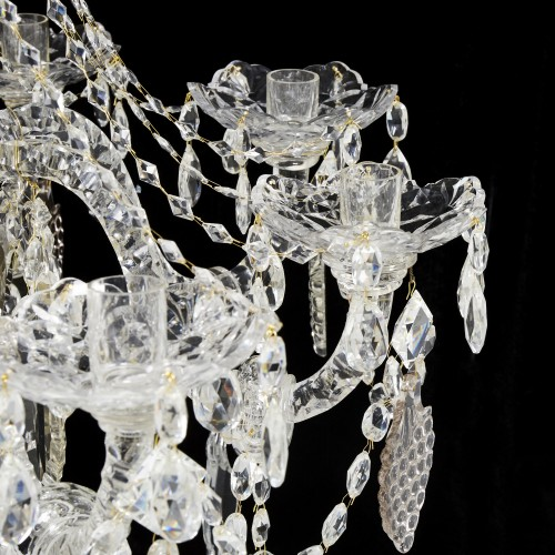 Crystal chandelier - second half 19th century - Lighting Style Napoléon III