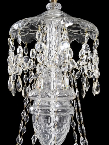 Lighting  - Crystal chandelier - second half 19th century