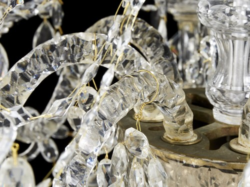 Crystal chandelier - second half 19th century -