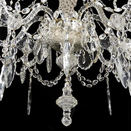 19th century - Crystal chandelier - second half 19th century