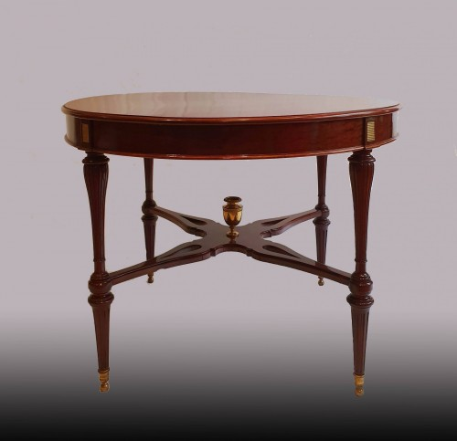 Louis XVI - Table stamped Molitor - 18th century