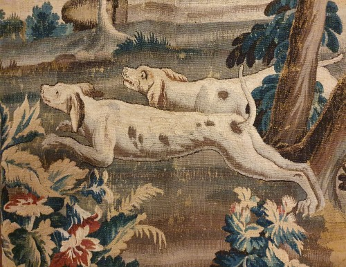 Aubusson tapestry - 18th century - Tapestry & Carpet Style Louis XV