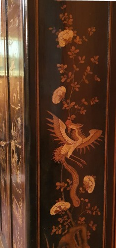 Lacquer cabinet - Mid XIXth century - Furniture Style