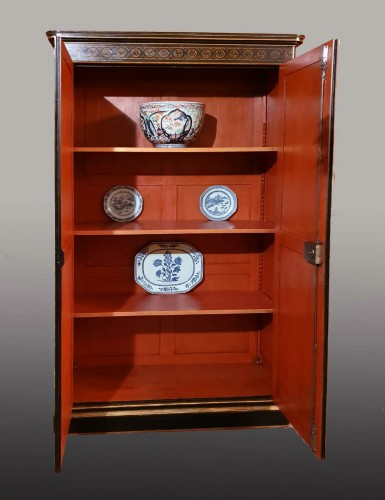 Furniture  - Lacquer cabinet - Mid XIXth century