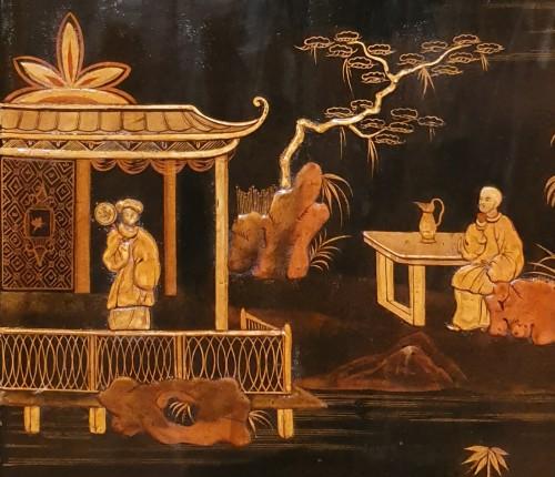 - Lacquer cabinet - Mid XIXth century