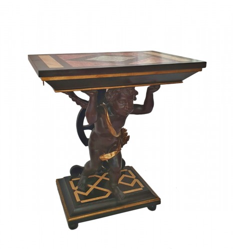 CONSOLE in the style of Andrea Brustolon - XIXth century