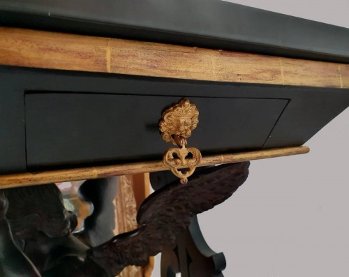 - CONSOLE in the style of Andrea Brustolon - XIXth century