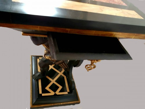 Antiquités - CONSOLE in the style of Andrea Brustolon - XIXth century