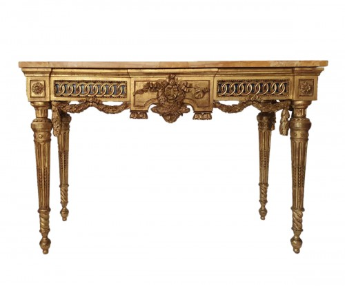 Neoclassical period console - 18th century Italy in the style of Bolgiè