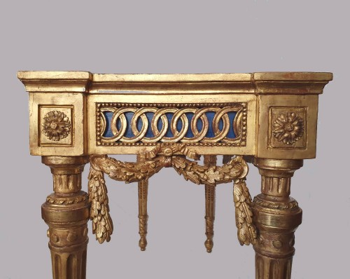 18th century - Neoclassical period console - 18th century Italy in the style of Bolgiè