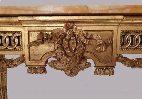 Neoclassical period console - 18th century Italy in the style of Bolgiè - Louis XVI