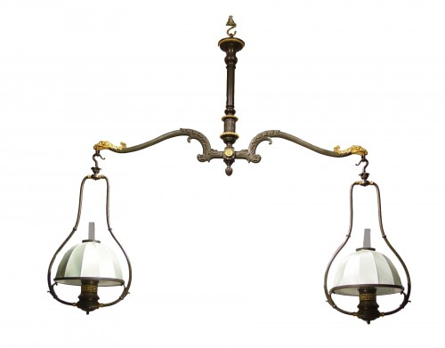Billiard chandelier - first half XIXth century
