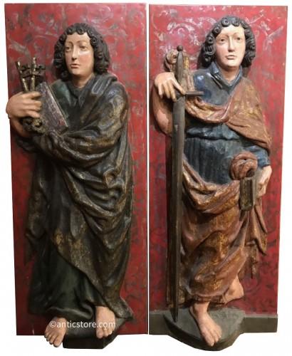 Volets de retable - Souabe vers 1500