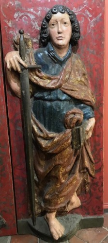 Volets de retable - Souabe vers 1500 - Religious Antiques Style Middle age