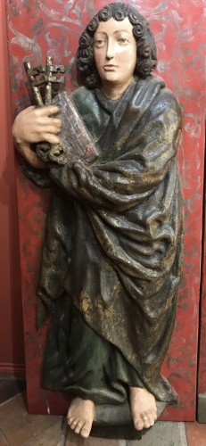 Religious Antiques  - Volets de retable - Souabe vers 1500