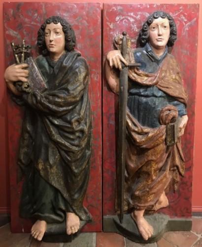 Volets de retable - Souabe vers 1500 - Middle age