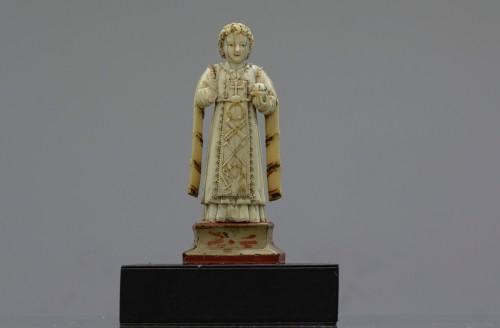 Baby Jesus Type Savior of the World - Religious Antiques Style