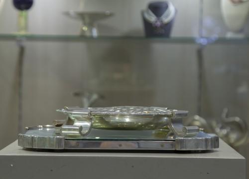 Antique Silver  - art deco  Portuguese silver