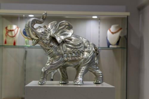 a pair of Portuguese elephants -