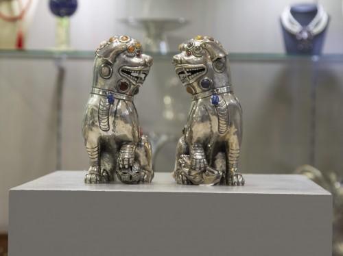 Antique Silver  - Dogs of Fo  - Luis Ferreira