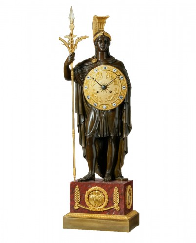 A late Empire clock case attributed to Gérard-Jean Galle