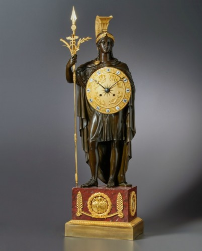 A late Empire clock case attributed to Gérard-Jean Galle - Horology Style Empire