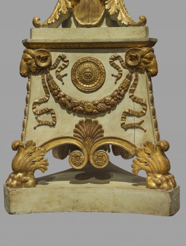 Furniture  - A pair of large Empire torchères after a design by Percier and Fontaine