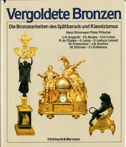 A set of six Empire gilt bronze figural candlesticks -