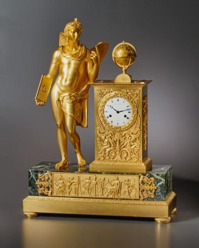An Empire figural clock, by Picnot Père à Paris - Horology Style Empire