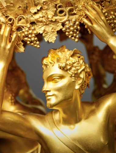 An Empire gilt bronze centrepiece attributed to Pierre-Philippe Thomire - Lighting Style Empire