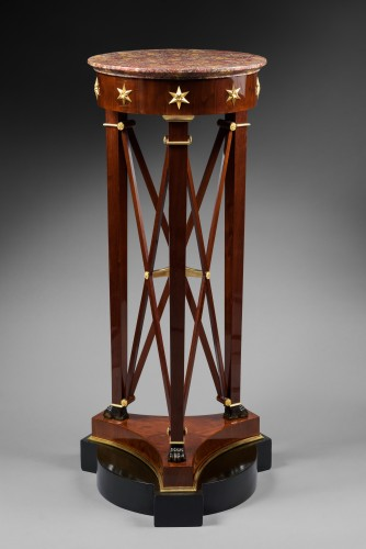 A pair of Empire of pedestal sellettes attributed to Jacob-Desmalter et Cie - Furniture Style Empire