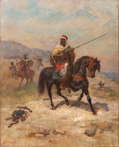 Georges Washington (1827-1901) - The Moroccan Warrior