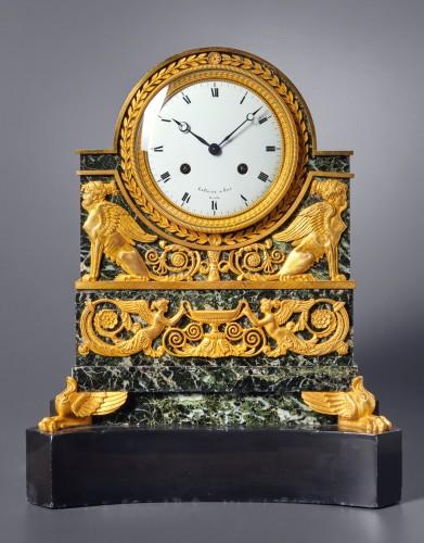 Horology  - A Restauration mantle clock by Le Paute et Fils Hrs du Roi