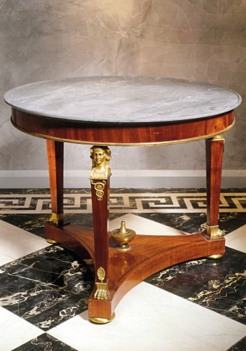 An Empire guéridon attributed to Molitor - Furniture Style Empire